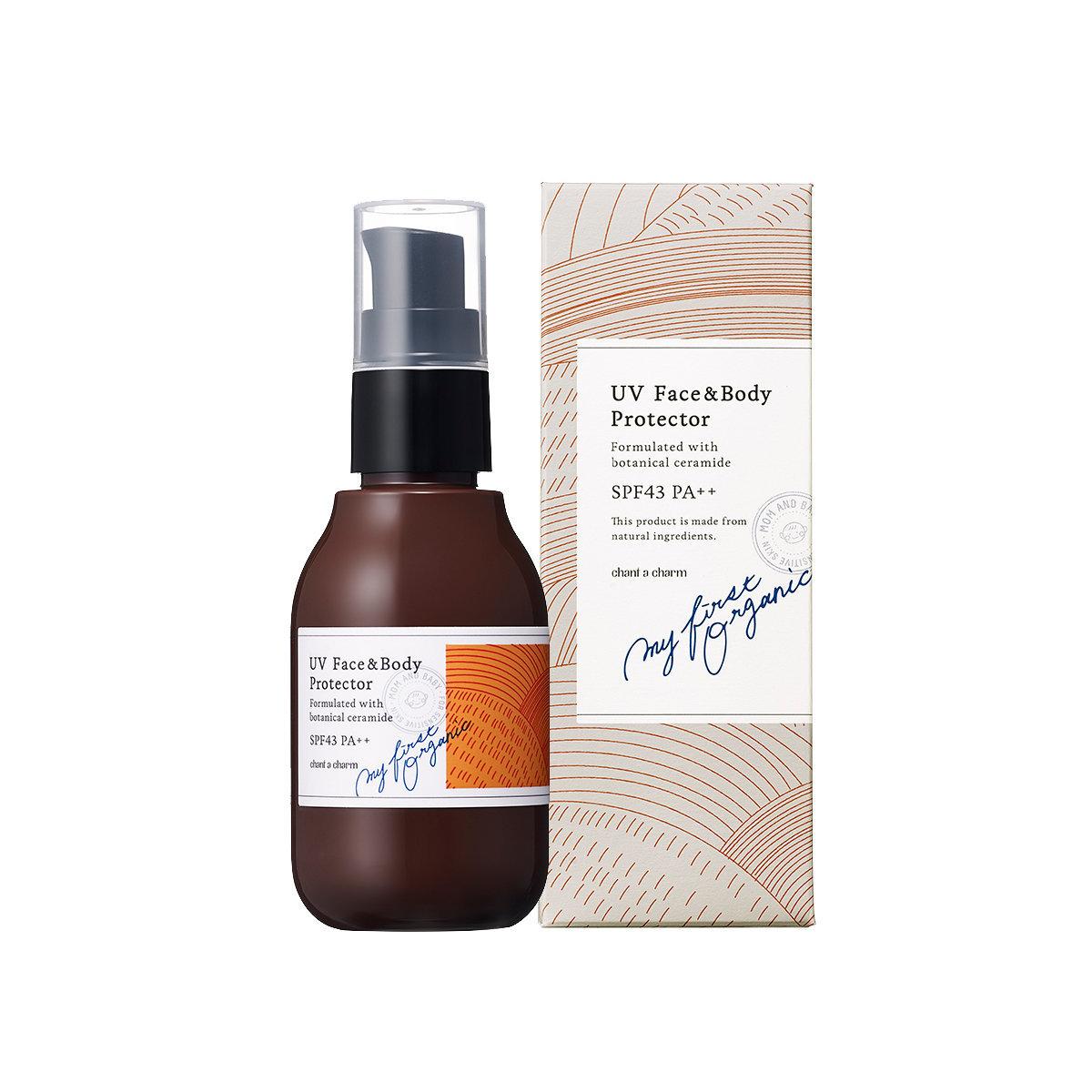 (日本) 面部及身體防曬霜 SPF43 PA++ 80ml - 天然有機護膚品牌 [香港行貨]