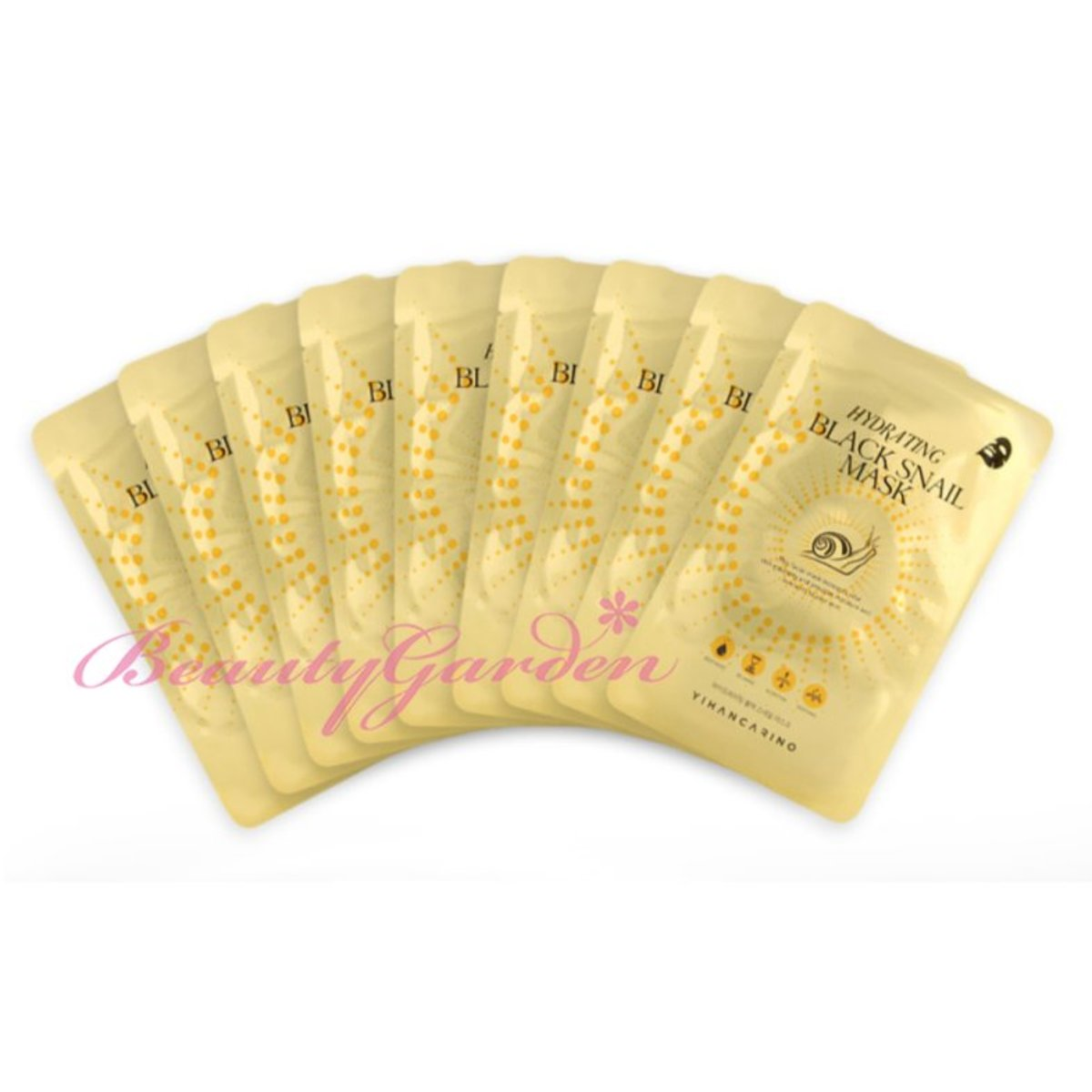 (KOREA) Hydrating Black Snail Mask 10 Sheets - [Parallel Import]