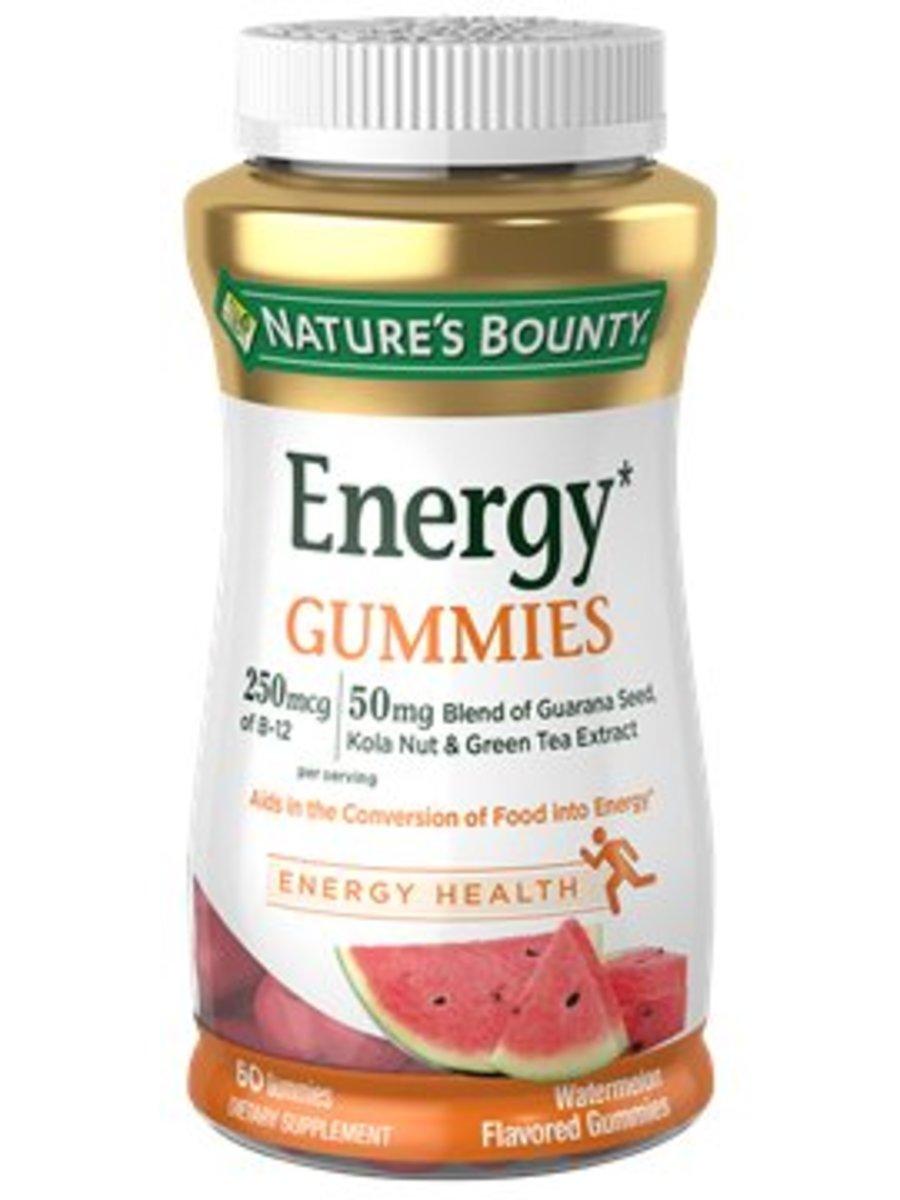 Energy Gummies 60's