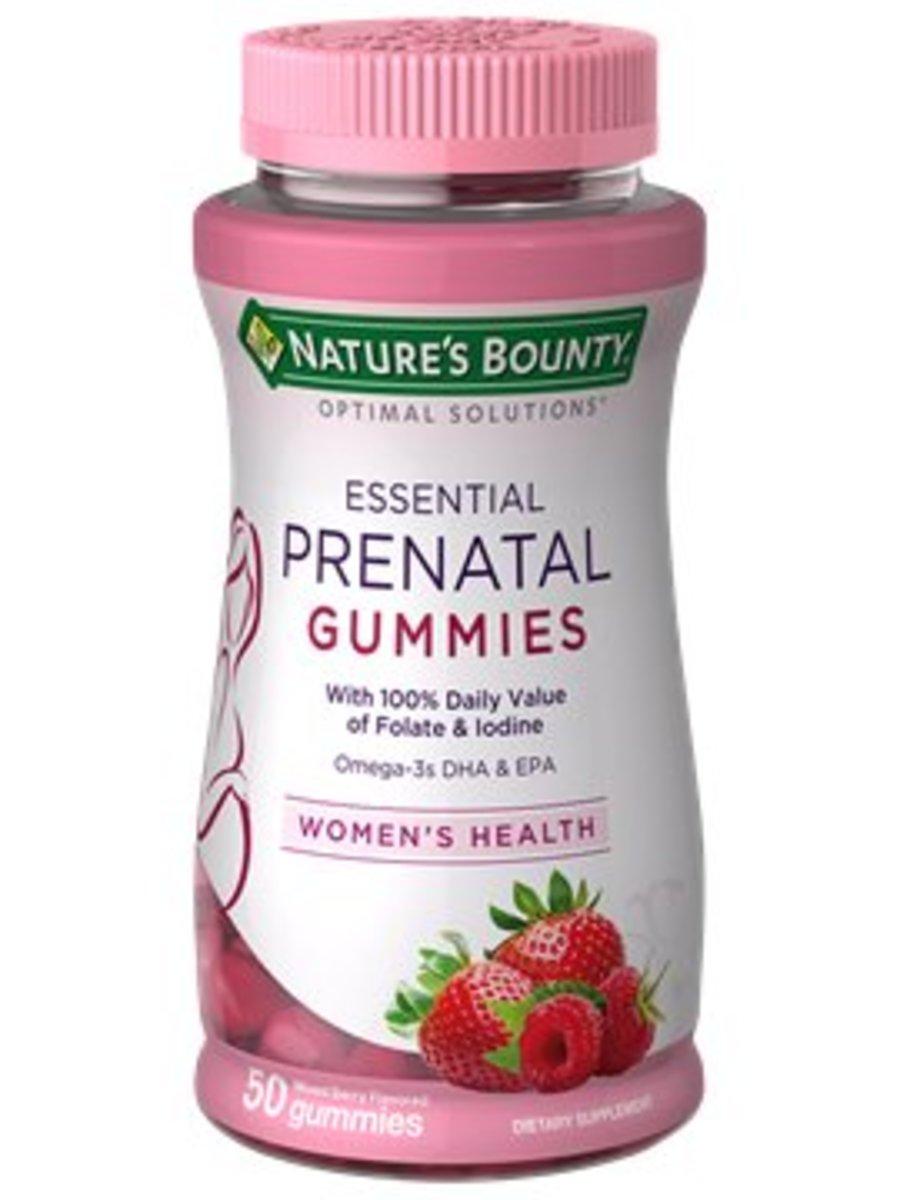 健美妍孕期專用複合維生素軟糖50粒