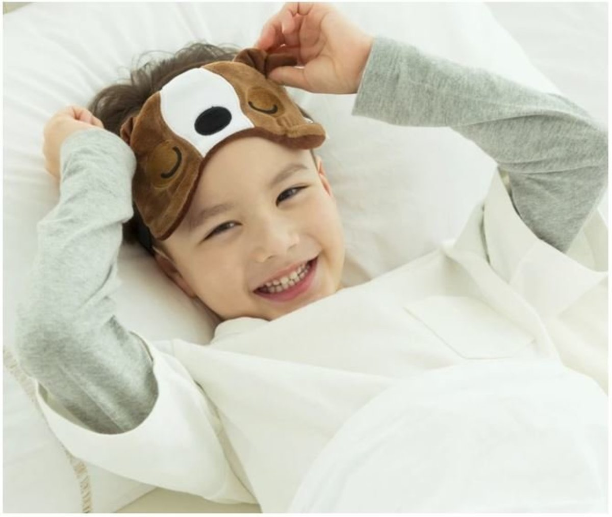 Travelmall Bull Dog Light-blocking Sleep Mask
