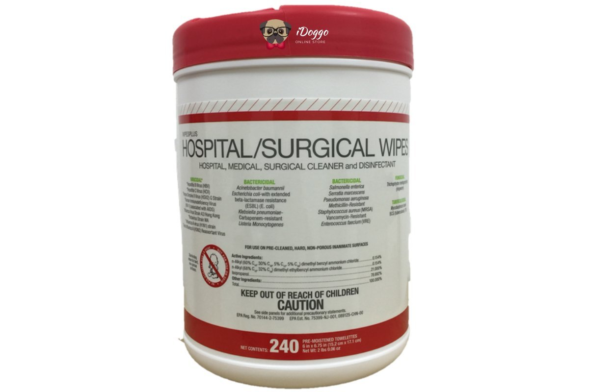 Hospital/Surgical Wipes (240 sheets)