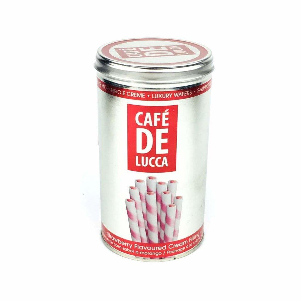 Cafe De Lucca 士多啤梨味威化卷 300g