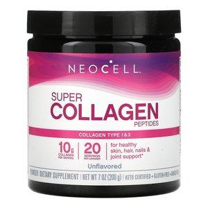 NEOCELL Neocell, 超級膠原蛋白肽,原味,7 盎司(200 克)