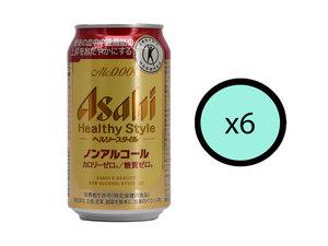 朝日 【Parallel Import】【6枝優惠裝】Asahi-Healthy Style無酒精啤酒 350ml