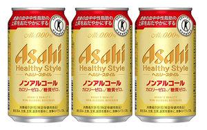 朝日 Asahi 【3枝優惠裝】Asahi-Healthy Style無酒精啤酒 350ml