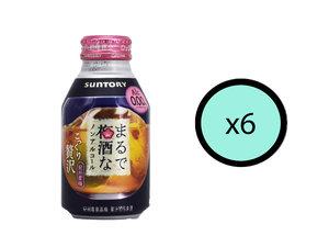 SUNTORY 【Parallel Import】【6枝優惠裝】三得利不含酒精梅子酒280ml