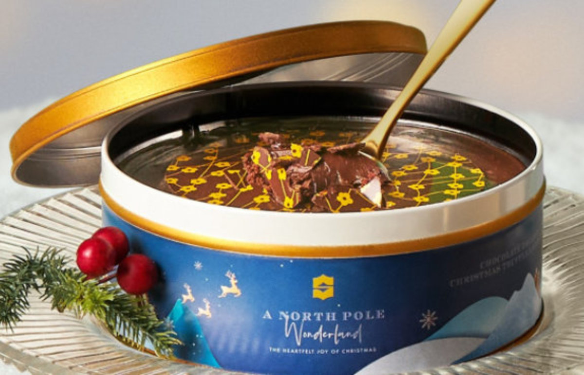 1 Unit - Chocolate Truffle Cake in a Tin【Self Pick-up Only】