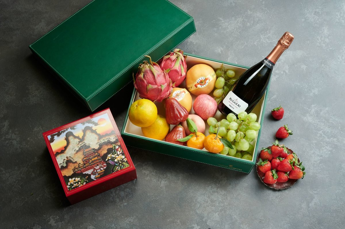 1 Unit - Shang Palace Deluxe Fruit Hamper【Self Pick-Up Only】