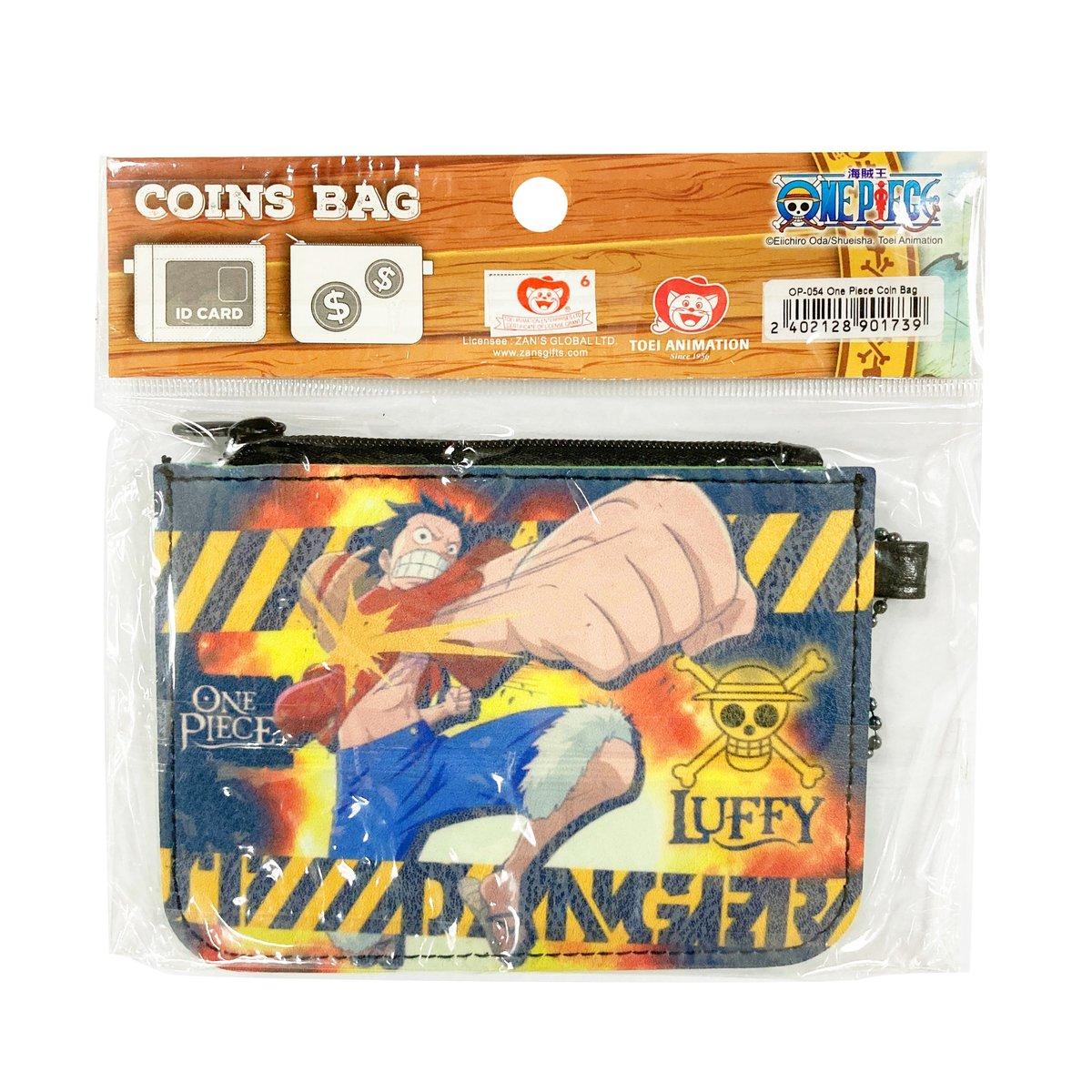 OP-054 One Piece Wallet Coins Bag