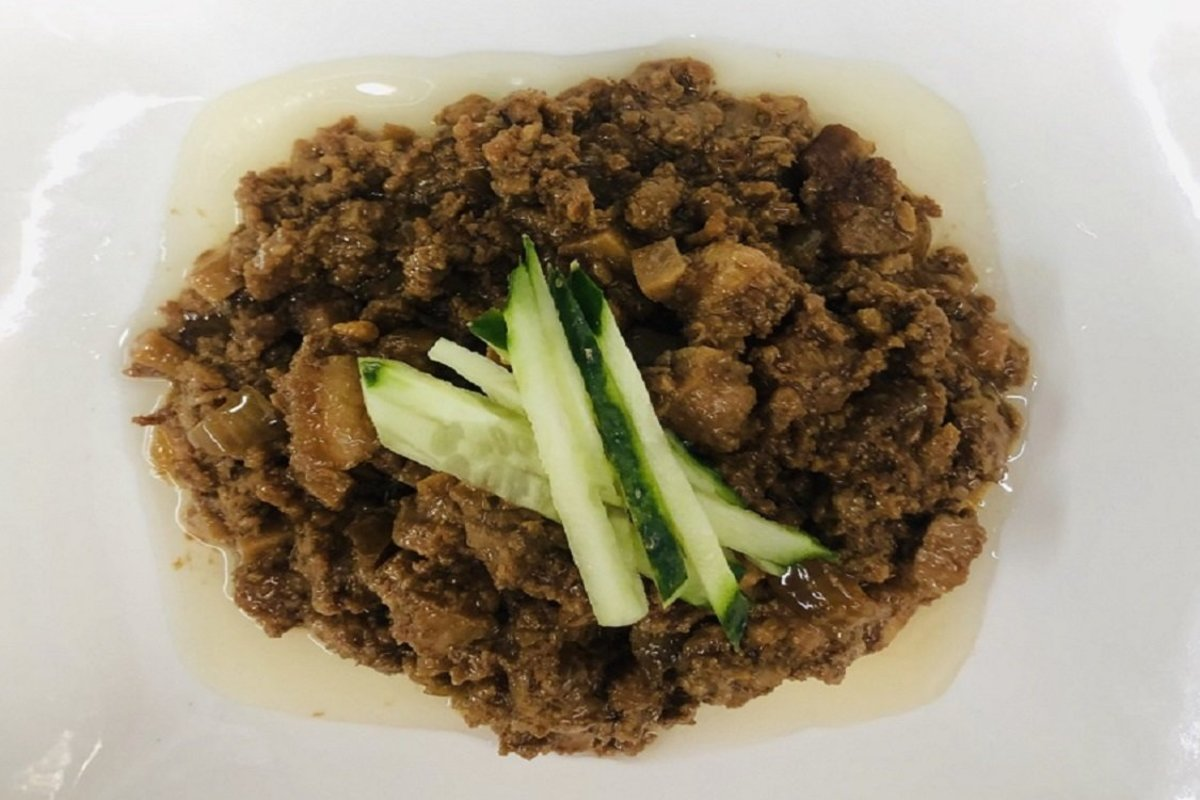1 Set - Ready-cooked Meal (Taiwanese Style Marinated Pork Mince)