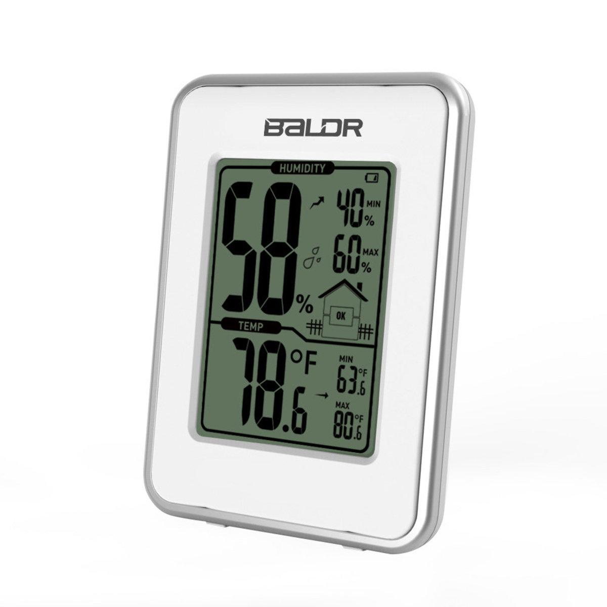 b0109 家用溫度計 濕度計 AAA電池x2