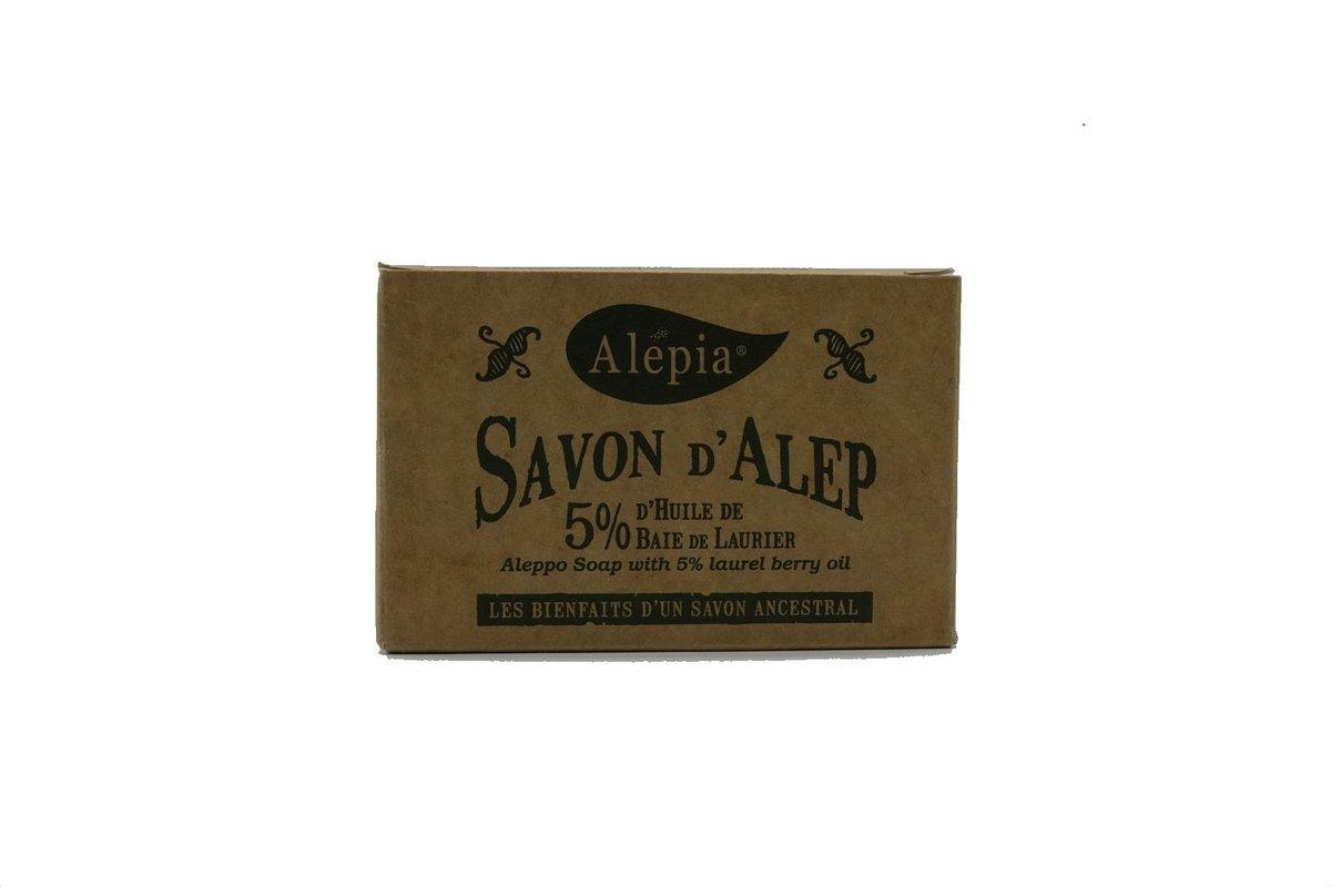 Savon d'Alep 5% Laurier 190g