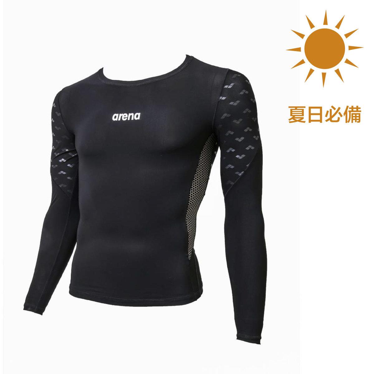 泳裝男士MOTION-X ENERGY長袖防UV防曬上衣