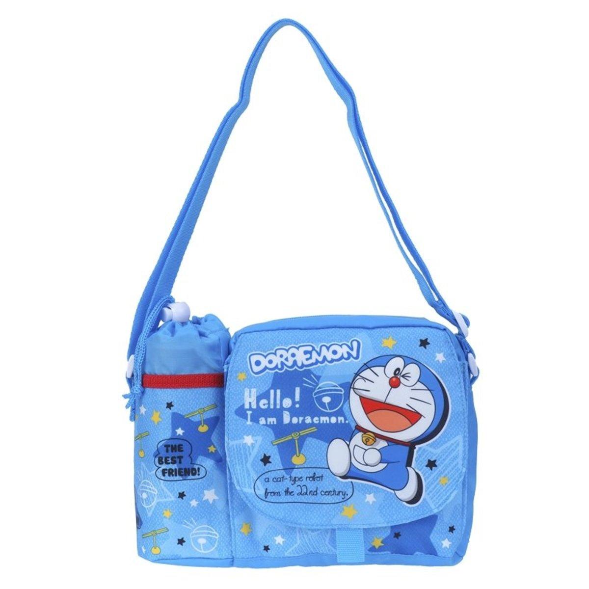 Doraemon 小童斜揹袋連水樽格