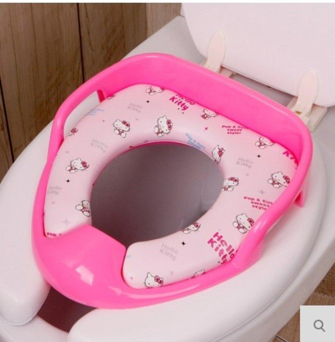 韓國Sanrio hellokitty廁所板連扶手