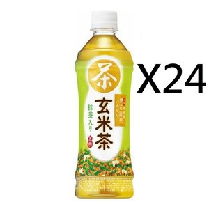 SUNTORY (平行進口)  [原箱優惠] 日本版 三得利 緑茶 伊右衛門 玄米茶 500ml X 4 (4901777321410) 500ML X 24