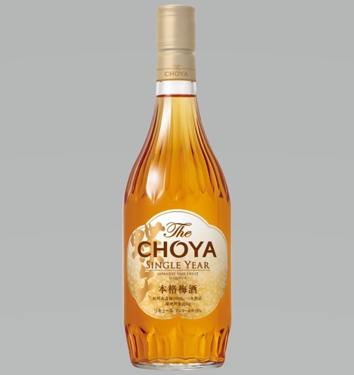 (Parallel)Cho Choya plum drink SINGLE YEAR 720 ml