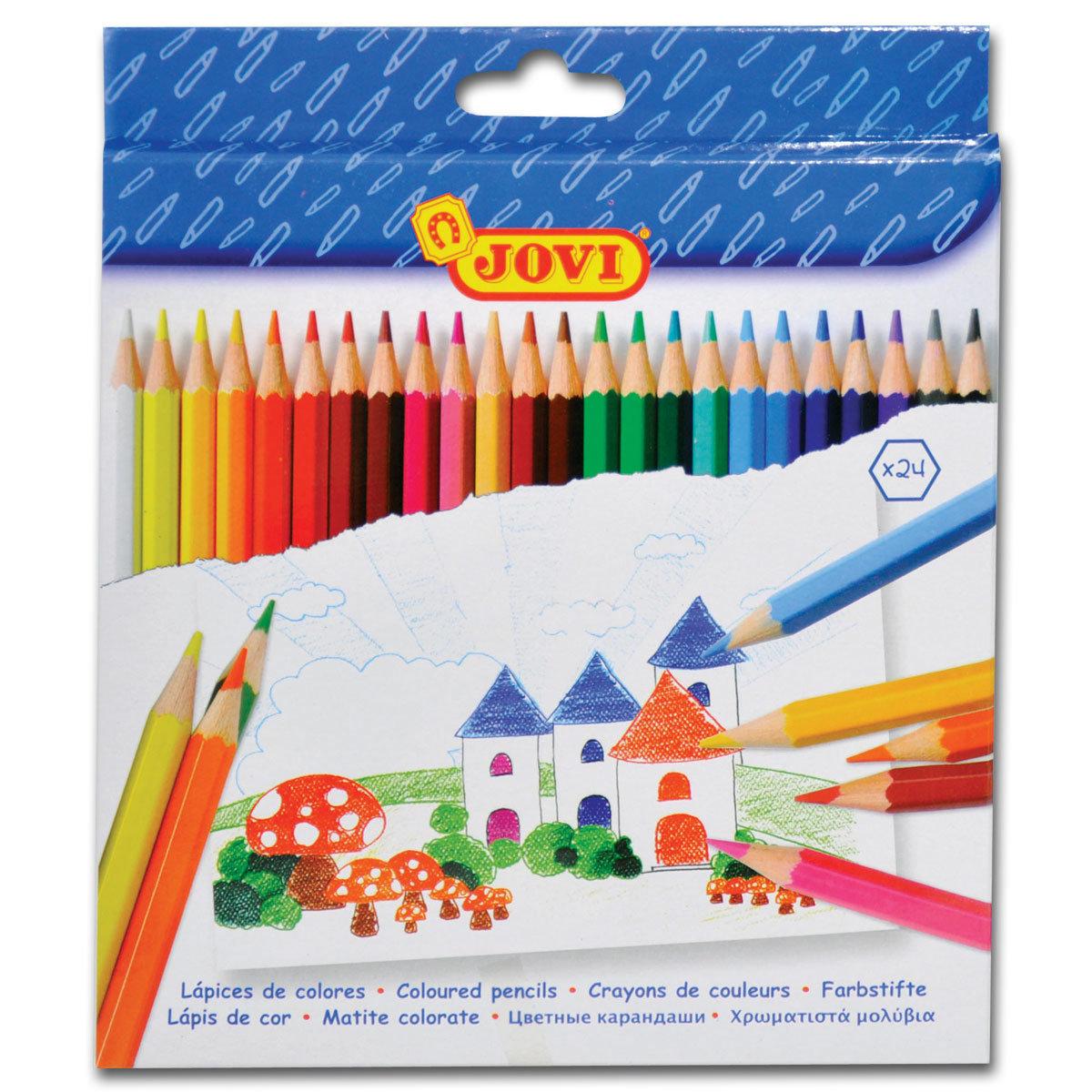 西班牙六角形木顏色 24色