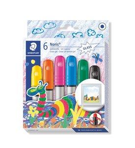Staedtler 施德樓 Noris Club gel crayons 6色 ( 玻璃蠟筆 )