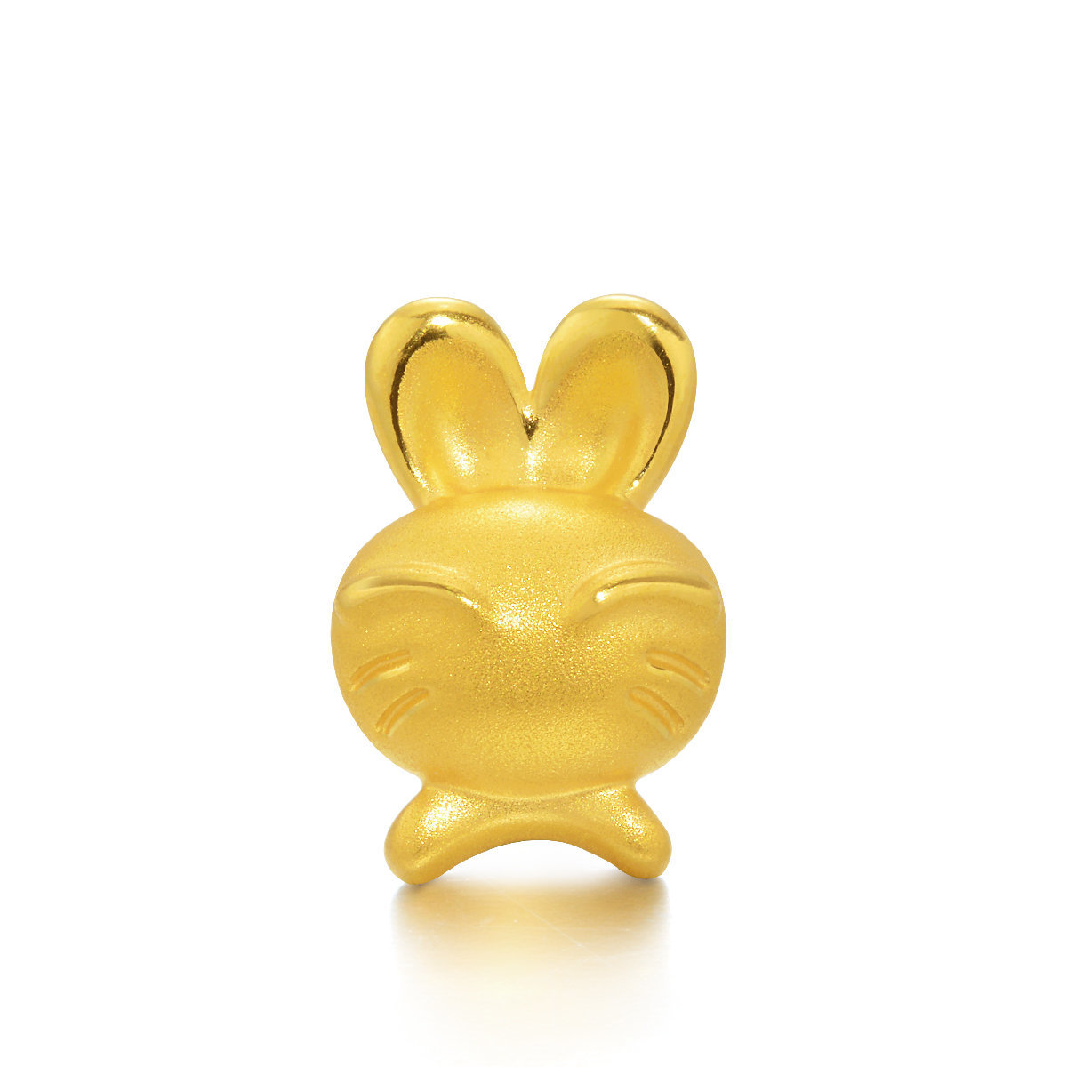 Charme 'Fate & Myth' 999 Gold Rabbit Charm (Bracelet not included)