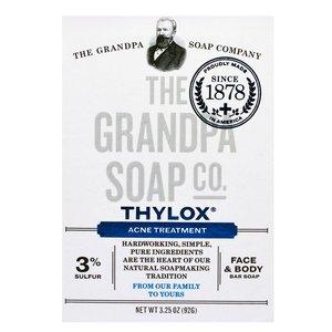 THE GRANDPA SOAP CO. Grandpa Soap Co. thylox, acne treatment  3.25oz(92g) Parallel import