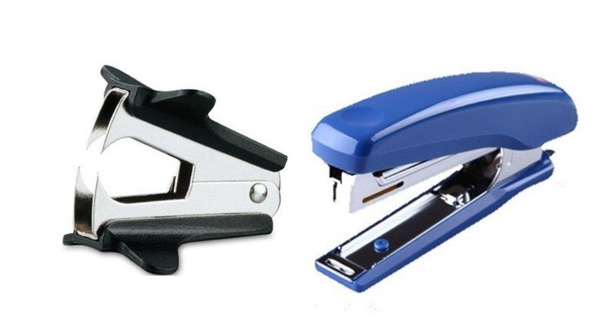 MAX HD-10NX (Blue) Stapler + Staple Remover