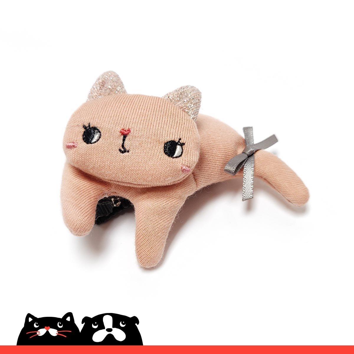 Pink Relax Kitten Hair Clip
