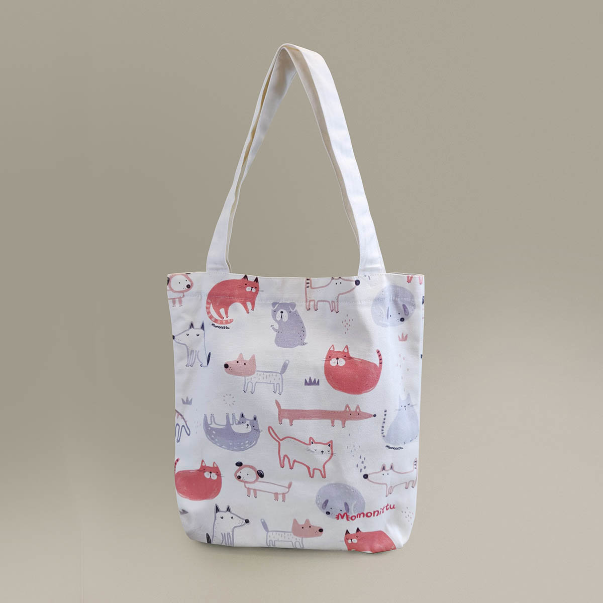Tote Bag with Overall Print