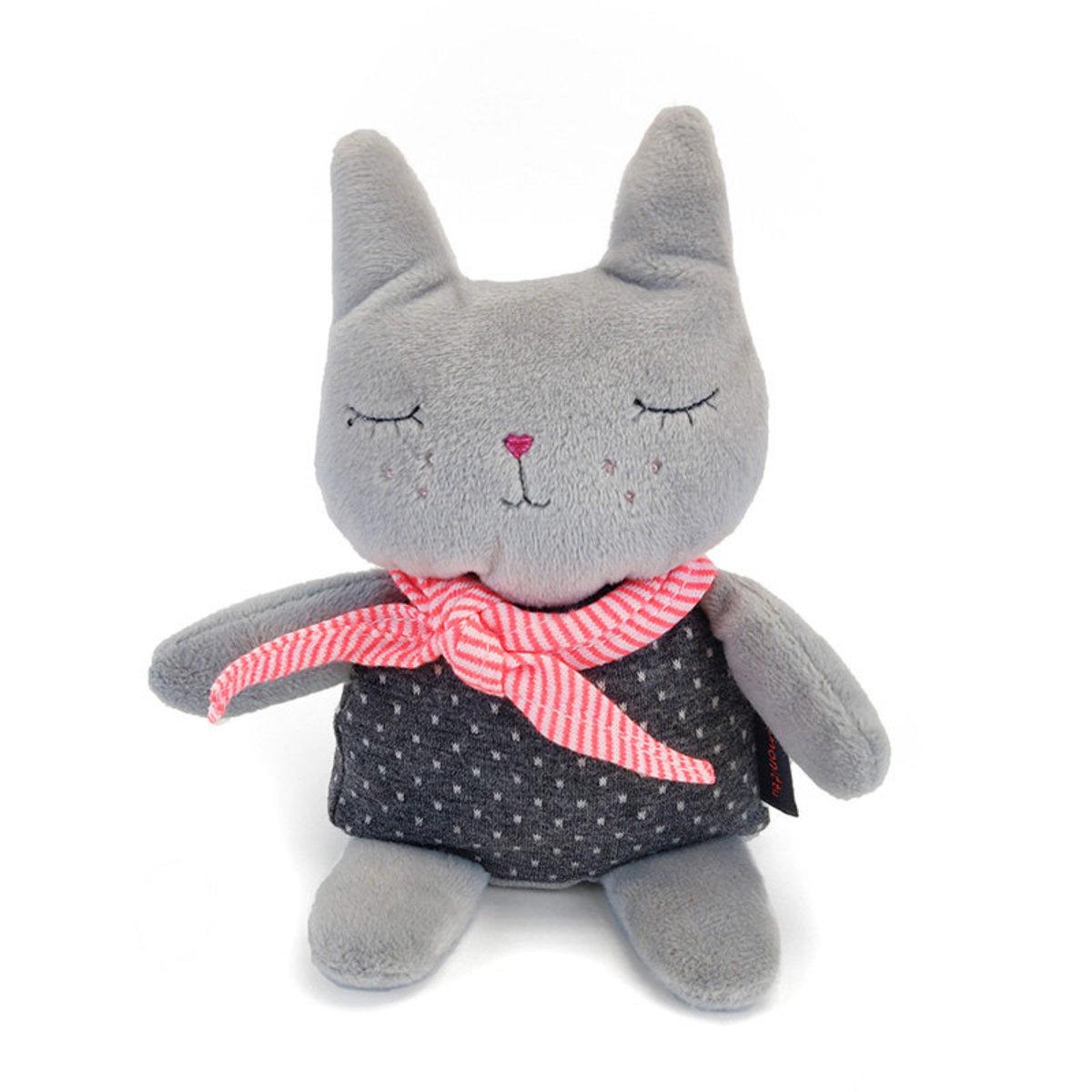 Greyish Kitten Toy