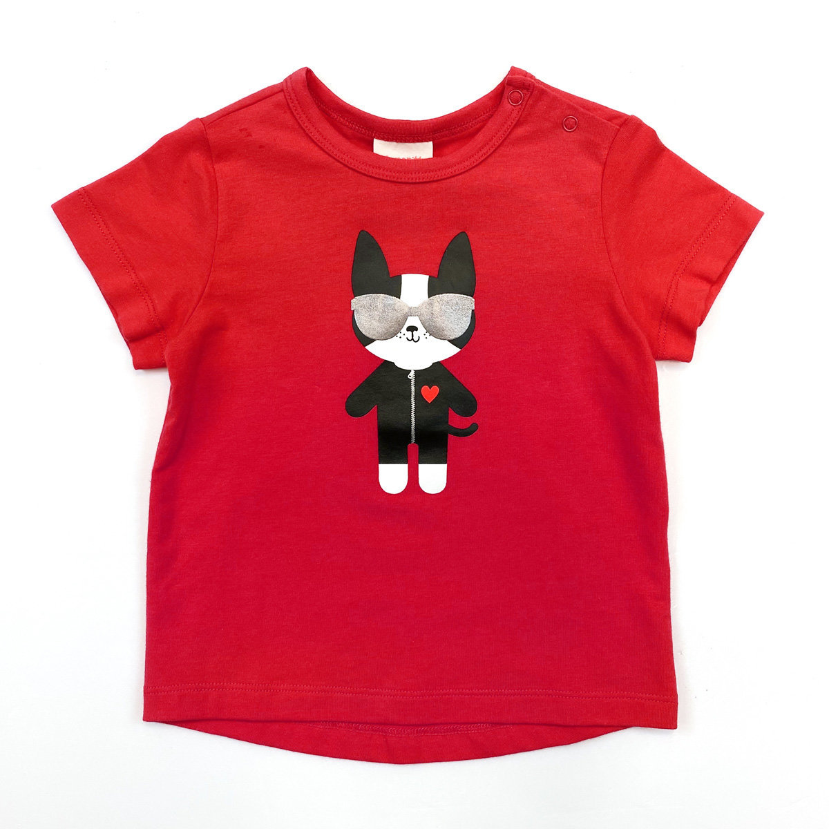 T-shirt with Dog Print