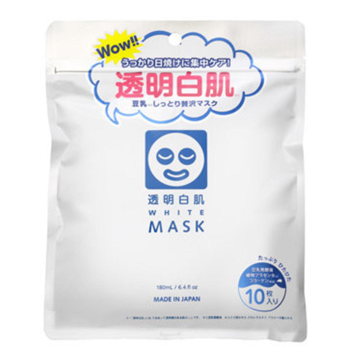 ISHIZAWA LAB - White Mask 10PCS/BAG X 2【Parallel Import Product】