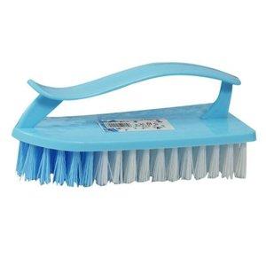 十畝地 家務衛生刷帶手柄洗衣刷清潔刷(顏色隨機 單只)#N01_007_023