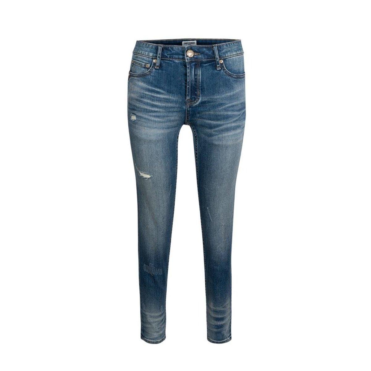 Ladies' Kaihara Slim Taper Mid-waisted Jeans