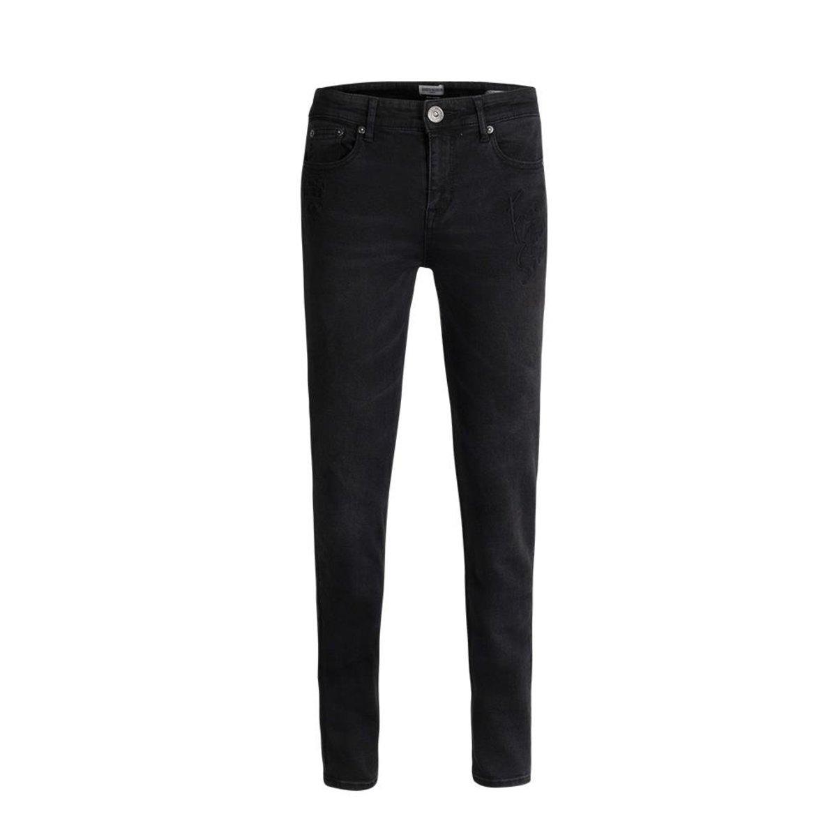 Ladies' Slim Taper Embroidery Jeans