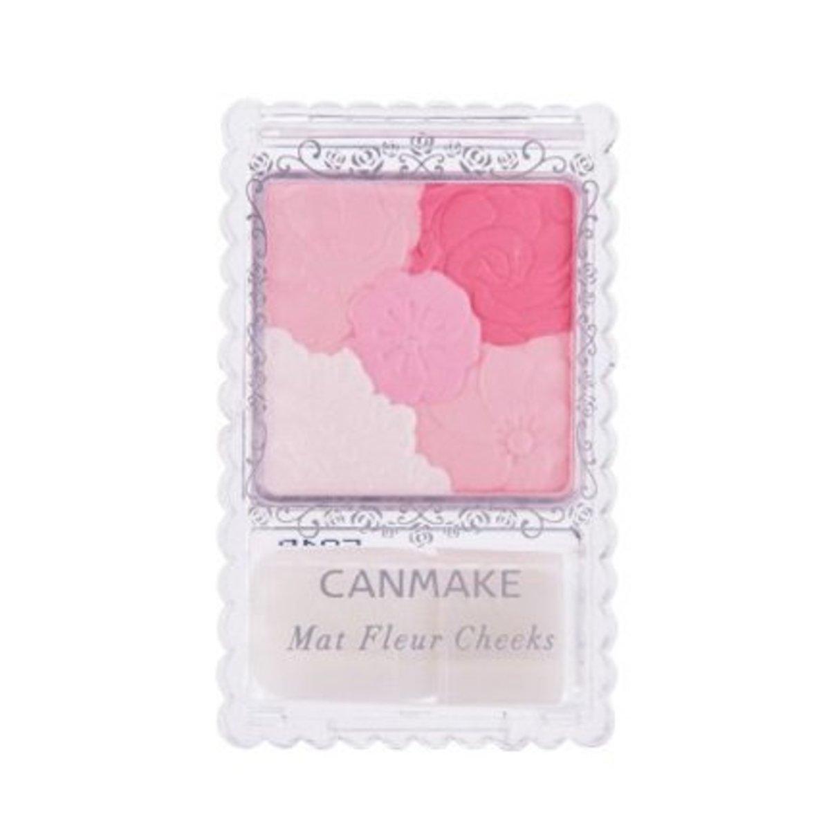 Mat Fleur Cheeks - 02 Matte Girly Rose