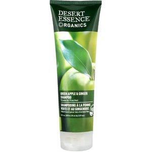 Desert Essence Organics, Shampoo, Green Apple & Ginger, 8 fl oz (237 ml)