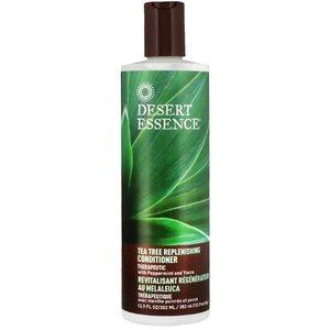 Desert Essence Tea Tree Replenishing Conditioner, 12.9 fl oz (375 ml)