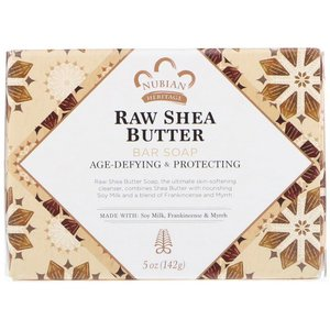 NUBIAN HERITAGE Raw乳木果油肥皂,5盎司(142克)