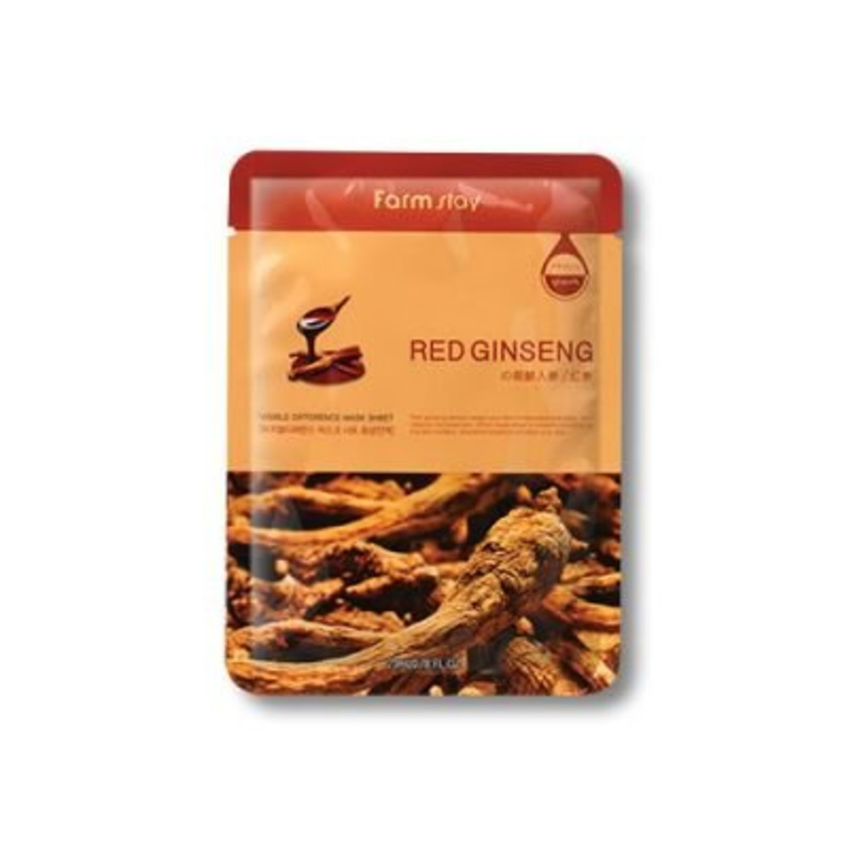 Visible Difference Mask Sheet -Red Ginseng (10pcs)(Parallel Import)