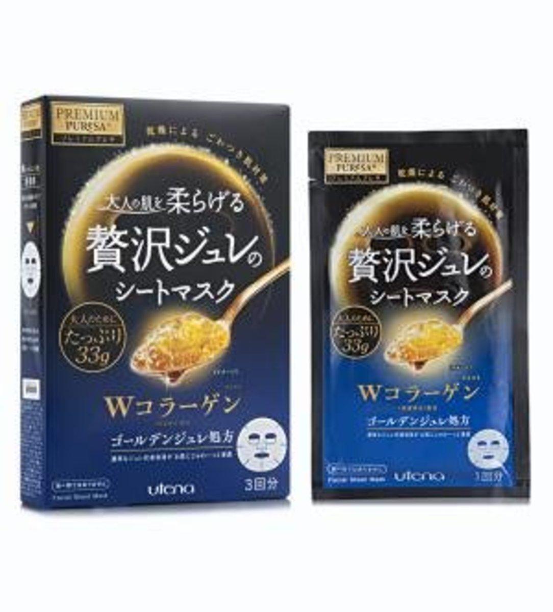 Premium Puresa Golden Gel Mask (Collagen) (3piece)(Parallel Import)