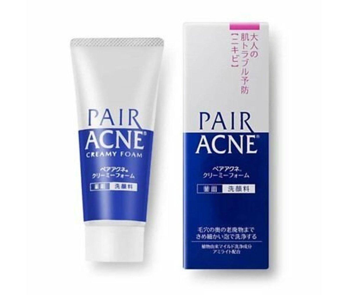 Pair Acne Creamy Foam Facial Washing Foam 80g (Parallel lmport)