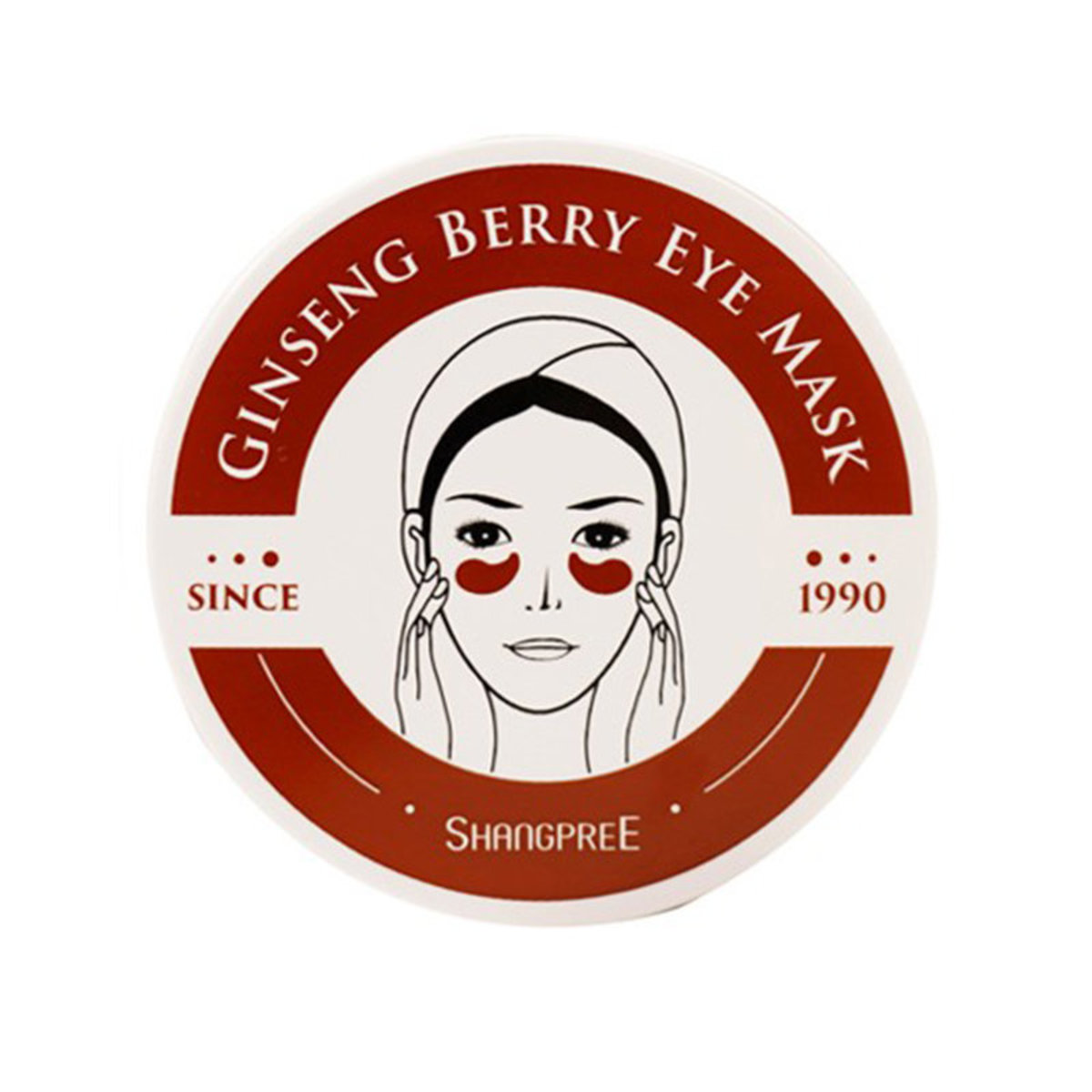 Ginseng Berry Eye Mask 60pcs (Parallel Imports)