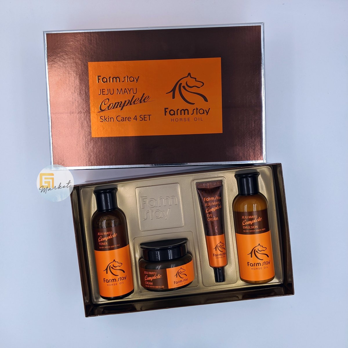Horse Oil Skin Care 4 Set (Parallel Import)