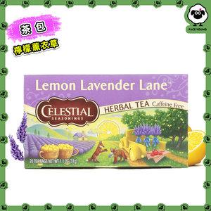 Celestial Seasonings Herbal Tea, Lemon Lavender Lane, Caffeine Free, 20 Tea Bags, 1.1 oz (31 g)[Parallel Import]