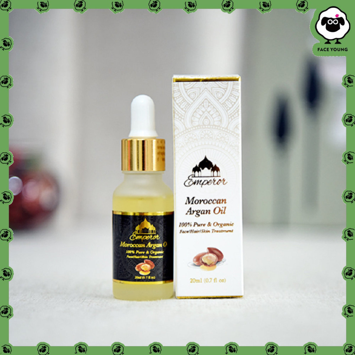 100% Moroccan Argan Oil (20ml)
