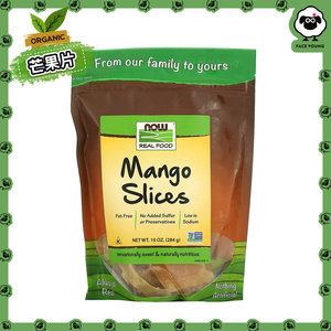 NOW FOODS Real Food, Mango Slices, 10 oz (284 g)[Parallel Import]