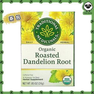 Traditional Medicinals 美國進口-有機蒲公英根草本茶-不含咖啡萃取16袋(24g)