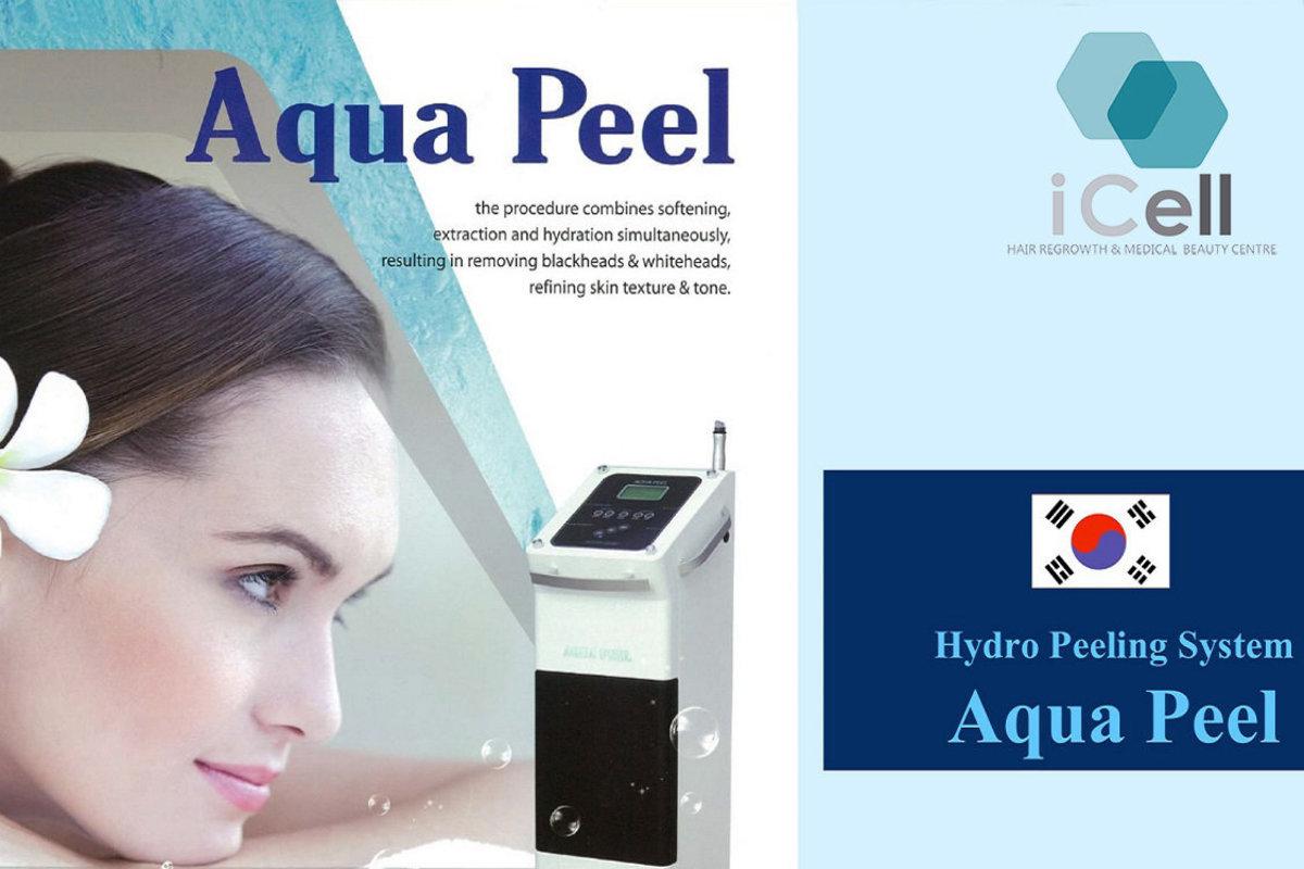 1 Session - Aqau Peel, Moisturizing and Whitening Treatment.