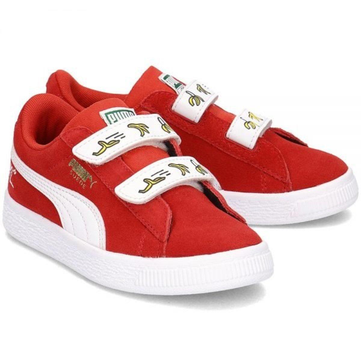 PUMA X MINIONS 兒童休閒鞋(紅色)